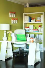 clever desk idea shelving ruemag com office pinterest