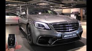 2018 mercedes amg s63 s class in depth review interior exterior
