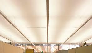 faux plafond en fibre de verre en dalles acoustique avec