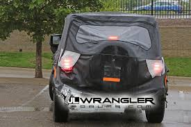 jeep back lights 2018 jeep wrangler jl jlu leaked photos blind spot monitoring