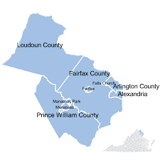 Map Of Loudoun County Va Region Ii Virginia Department Of Veterans Services