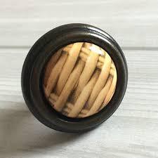 black ceramic cabinet knobs 1 25 32 mm yellow dark ceramic drawer kitchen cabinet knob s