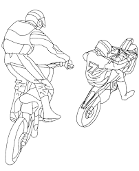 motorbikes coloring books 4 print color free