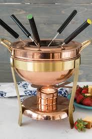 delicious holiday chocolate hazelnut fondue recipe