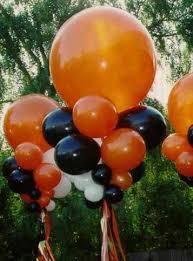 cheap balloons cheap decoration 12 36 black orange balloons