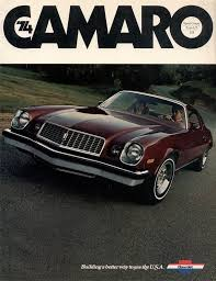 chevrolet camaro 1974 1974 camaro specs colors facts history and performance