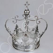 gold silver or white decorative iron crown ornament