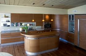 Curved Island Kitchen Designs Cabinetry Tomasi Design