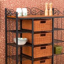 Decorating A Bakers Rack Bakers Rack With Drawers Rhama Home Decor