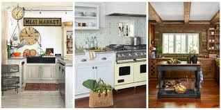 country kitchen decor ideas 18 farmhouse style kitchens rustic decor ideas for kitchens