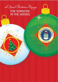 military christmas greeting cards