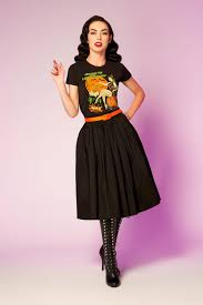 pinup exclusive halloween t shirt by atomic swag pinup