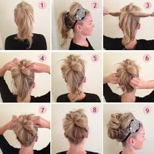 step bu step coil hairstyles braided curly hair updo step by step