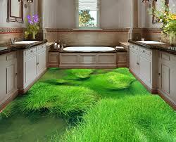 sol vinyle chambre enfant revêtement de sol vinyle pvc personnalisé paysage du marais