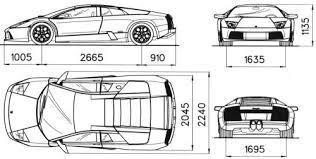 lamborghini murcielago dimensions murcielago cars cars
