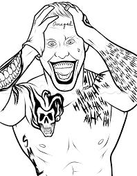 18 dessins de coloriage Suicide Squad à imprimer