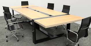 Modern Industrial Desk by Industrial Reclaim Custom Built Conference Tables