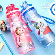 aliexpress buy snoopy summer baby bottle glass student