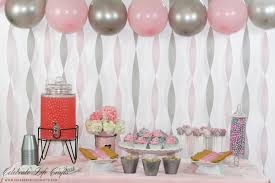 pink and gray baby shower pink peanut elephant baby shower celebrate crafts