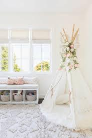 mädchen kinderzimmer babyzimmer grau rosa dezentes interieur design im kinderzimmer vom