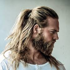 the new man bun the half ponytail for men