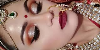 bridal makeup tutorial indian bridal makeup tutorial in day time shimmery