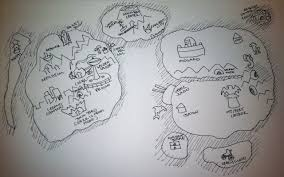 Ffvii World Map by Final Fantasy Vii World Map By Acosmos I Think Mapstalgia