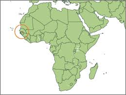 africa map gambia gambia wrm in