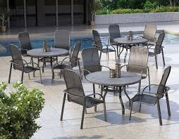 Mesh Patio Table Outdoor Patio Furniture Florida Mesh Collection Bar Stool
