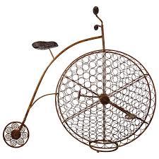 bicycle wine rack at 1stdibs
