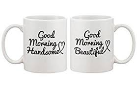 his hers mugs his and hers coffee mug set morning handsome
