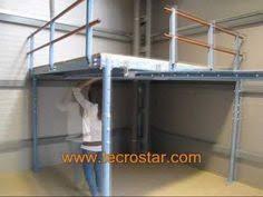 3d Interior Rendering Industrial Mezzanine Space And Wood Floor