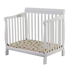 Mini Crib White On Me On Me Aden Convertible 3 In 1 Mini Crib White