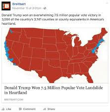 Election 2016 Map by Breitbart U0027s Phony Election Map Shows How Hard It Is To Stamp Out