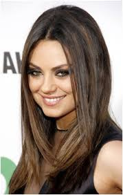 medium straight haircut women medium haircut