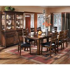 ashley dining room tables signature design by ashley larchmont dining table with leaf jcpenney