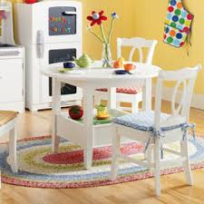 kids play table with storage kids play tables kids white circular solid wood storage bin table
