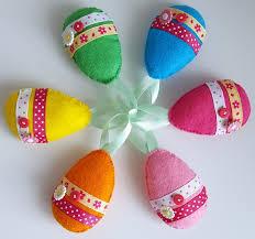 felt easter eggs dinki dots craft felt easter eggs