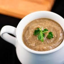 healthy chestnut and mushroom soup recipe vegan gluten free