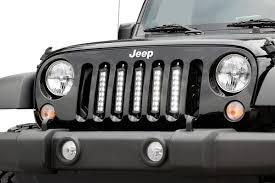 jeep light bar mount 8 inch cree black series vertical led light kit for 07 17 jeep jk