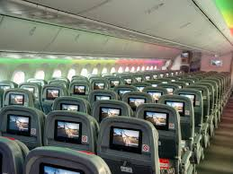 Boeing 787 Dreamliner Interior Norwegian Air International Scares Us Airlines Business Insider