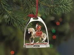 breyer stirrup ornament ornaments