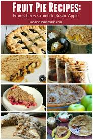 thanksgiving pie recipes hoosier