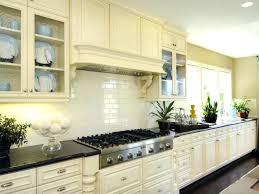 cream colored backsplash tile kitchen unusual white glass subway