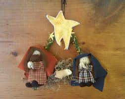 miniature nativity etsy