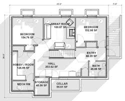 home plans designs free house plans with basements new house plans walkout basement