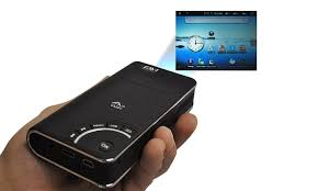 projector for android favi a3 wifi pocket projector with android os and touch pad groupon