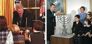 Bill Clinton House How Hanukkah Came To The White House U2013 The Forward