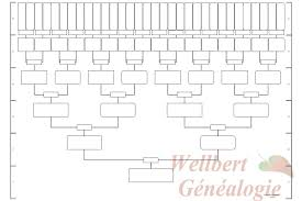 family tree chart 6 generations printable empty to fill in oneself