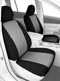 nissan altima seat covers amazon com caltrend front row bucket custom fit seat cover for